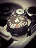 Vintage camera knob Stock Photo