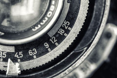 Vintage camera lens Royalty Free Stock Image