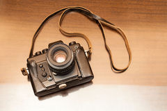 Vintage camera. Royalty Free Stock Photo