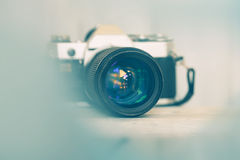 Vintage camera Royalty Free Stock Photo