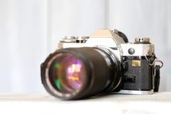 Vintage camera Stock Photo
