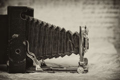 Vintage camera, rare item Royalty Free Stock Photography