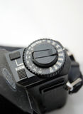 Vintage camera sensitivity dial. Picture of a Vintage camera sensitivity dial Royalty Free Stock Photography