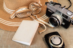 Vintage camera still life Stock Photography