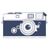 Vintage Camera. Vector Clipart Art Royalty Free Stock Photography