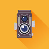 Vintage camera vector Royalty Free Stock Photos