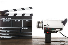 Vintage camera video Stock Photography