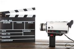 Vintage camera video Stock Photography