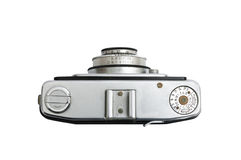 Vintage camera view from above Stock Photography