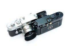 Vintage Camera on white background Royalty Free Stock Photos