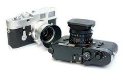 Vintage Camera on white background Stock Photography