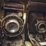 Vintage Cameras stock photography