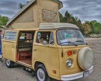 Volkswagen camper van 1978 stock photography