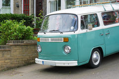 Vintage Camper Van Royalty Free Stock Images