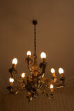 Vintage Candlelight II. Vertical picture of an old lamp Stock Photography