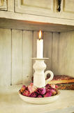 Vintage candlelight Royalty Free Stock Photography