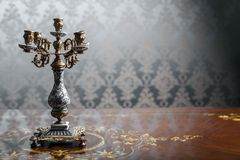Vintage candlestick Royalty Free Stock Photography