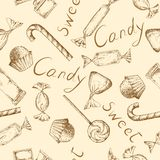 Vintage candy background Royalty Free Stock Images