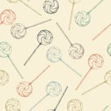 Vintage candy background Royalty Free Stock Photos