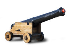 Vintage cannon Stock Images