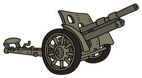 Vintage cannon Royalty Free Stock Photo