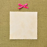 Vintage canvas background Stock Image