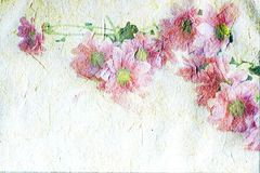Vintage canvas background Stock Images