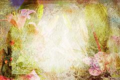 Vintage canvas background Royalty Free Stock Photos