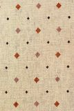 Vintage Canvas, background with pattern Stock Photo