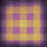 Vintage canvas chequered pattern Royalty Free Stock Images