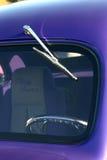 Vintage car. Detail of a vintage car Stock Photography