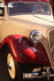 Vintage car. The front of a vintage car Stock Image