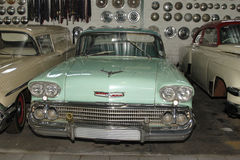 Vintage Car 1958 Chevrolet Sedan royalty free stock image