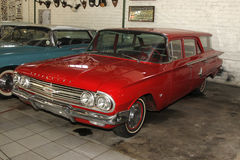 Vintage Car 1960 Chevrolet Brookwood Station Wagon Stock Photo