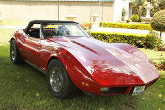 Vintage Car 1973 Chevrolet Stingray Corvette Royalty Free Stock Photo