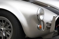 Vintage Car. Part of a vintage motorcar Royalty Free Stock Photography