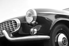 Vintage car. Classic and vintage automobile's details Stock Photo