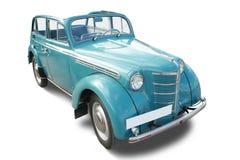 Vintage car. Isolated on white Stock Image