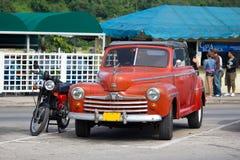 Vintage car. On the street in Havana Royalty Free Stock Photos
