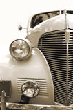 Vintage car. Sepia. retro automobile Royalty Free Stock Image