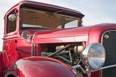 Vintage car. An old car restored Stock Images