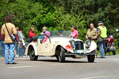 Vintage car Aero Royalty Free Stock Photo