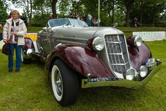 Vintage car Auburn 852 Speedster. Royalty Free Stock Photo