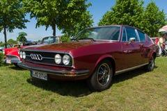 Vintage car Audi 100 Coupe S Stock Image