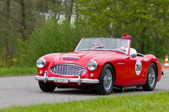 Vintage car Austin Healey 3000 MK1 from 1960 Royalty Free Stock Images
