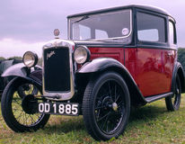 Vintage car (Austin seven) Royalty Free Stock Photos