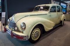 Vintage car Awtovelo EMW/BMW 340-2, 1952. Royalty Free Stock Photos