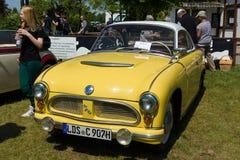 Vintage car AWZ P70 Royalty Free Stock Image