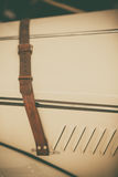 Vintage car belt royalty free stock photography