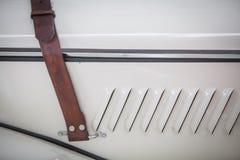 Vintage car belt stock photos